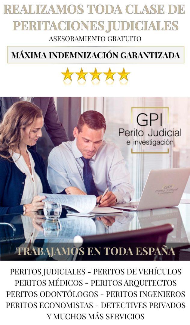 gabinete pericial peritaciones judicial